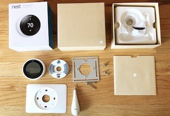 unboxing termostato nest