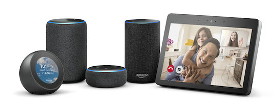 la linea amazon echo presenta diversi smart speaker tra cui echo dot