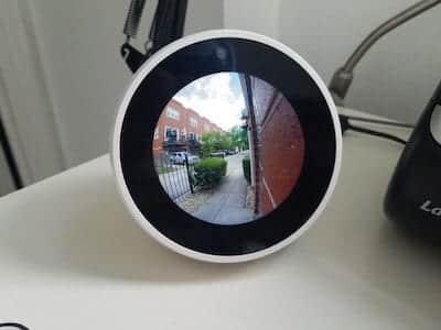echo spot telecamera