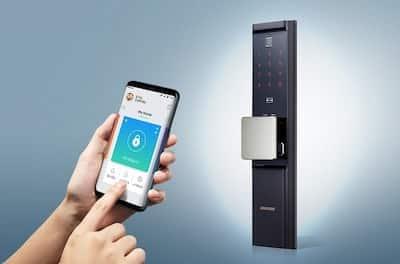 con lo smartphone e l'app si potrà aprire o chiudere la serratura smart