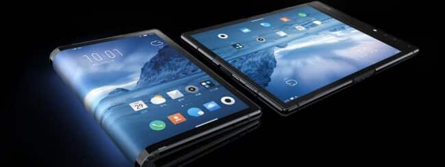 Smartphone pieghevole Royole FlexPai