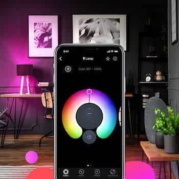 Controllare le luci con lo smartphone: potrai cambiare anche il colore