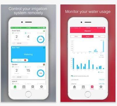 App gestione irrigazione smart