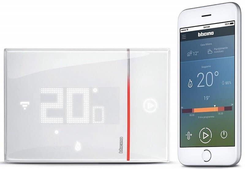 il termostato bticino smarther è adesso compatibile con alexa