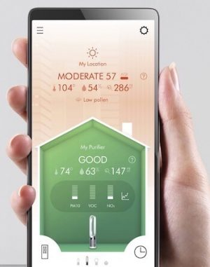 purificatore aria smart wifi