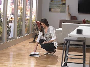 robot lavapavimenti parquet