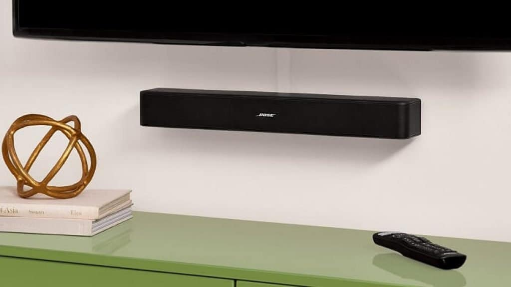 bose solo tv design