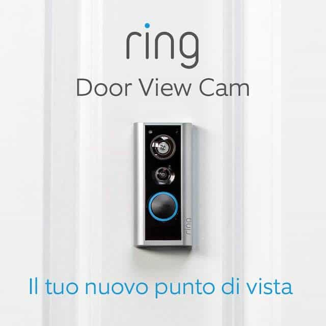 Ring Door View Cam nuovo videocitofono WiFi compatibile con Alexa