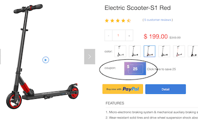 coupon di 25 dollari megawheels