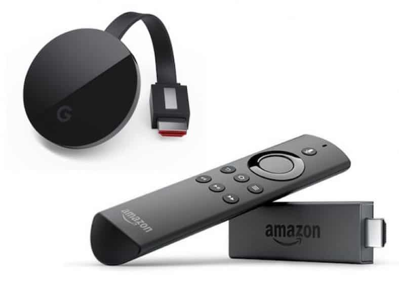 youtube su fire tv stick, prime video su chromecast