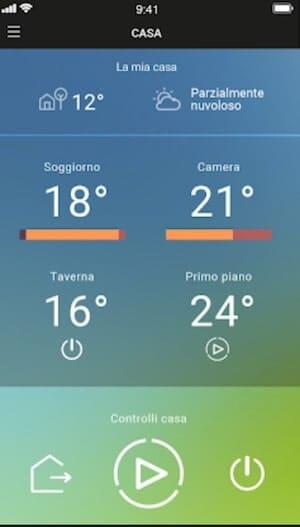 bticino smarther controllo diversi termostati