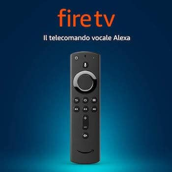 telecomando fire tv stick alexa