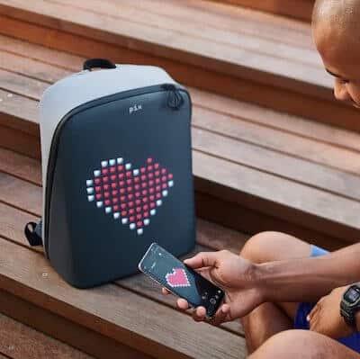zaino pix led personalizzabile