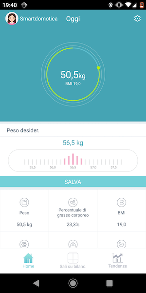 app huawei body fat scale