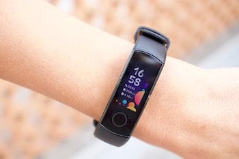 display amoled smartband