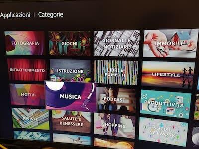 applicazioni fire tv stick categorie