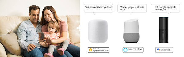 ciabatta wifi compatibile homekit alexa google