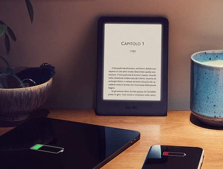 Kindle con luce frontale