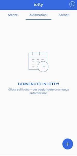 iotty app automazioni