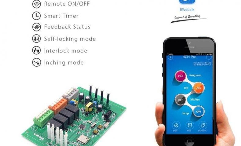 Recensione Sonoff 4CH Pro R2   Prezzo e opinioni sullo smart switch Sonoff