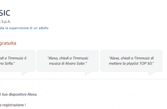 TIMMUSIC arriva su Alexa ed è gratis per il mese di Aprile