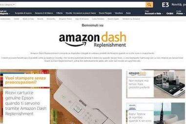 Amazon Dash Replenishment: la Smart Home che pensa alle tue scorte