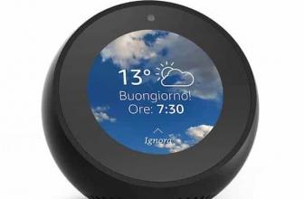 Recensione Amazon Echo Spot: smart display dal design irresistibile