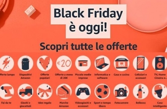 I bestseller Amazon del Black Friday: ecco quelli ancora in offerta