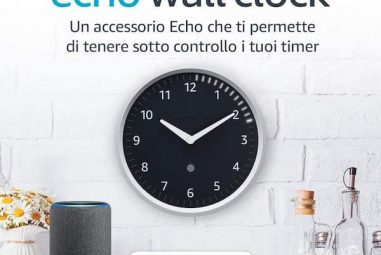 Echo Wall Clock in Italia: l'orologio compatibile con Alexa