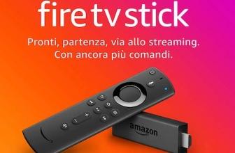 Nuovo Fire TV Stick: ora compatibile con Alexa e in versione 4K