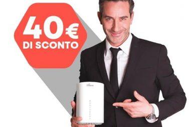 """Offerta Linkem: 40€ di incentivo per """"rottamare la tua vecchia connessione"""""""