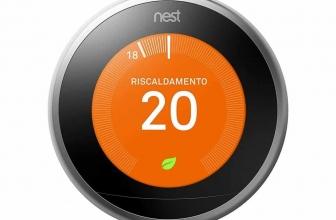 Recensione termostato Nest: risparmio assicurato grazie all'AI