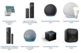 Arrivano i nuovi Amazon Echo (e cambiano forma!). Ma non solo…